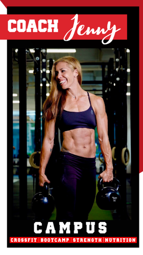 Coach Jenny Tilbury - CAMPUS Personal Trainer